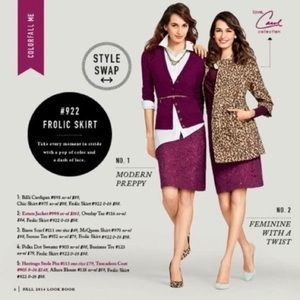 Cabo • Frolic Pencil Skirt in Plum
